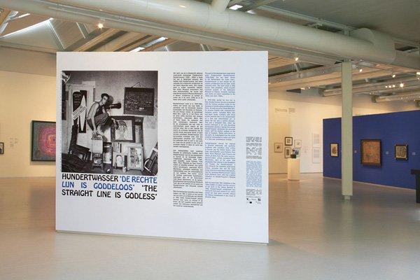 Hundertwasser, 'The straight line is godless'