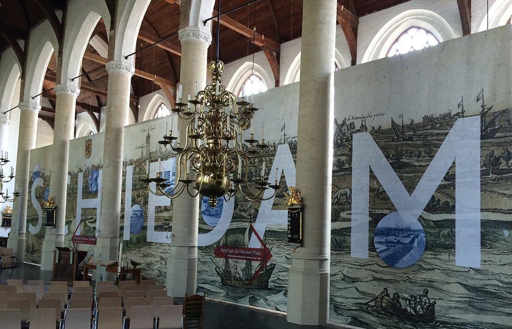 The Historical Atlas of Schiedam & Pearl on the Nieuwe Maas